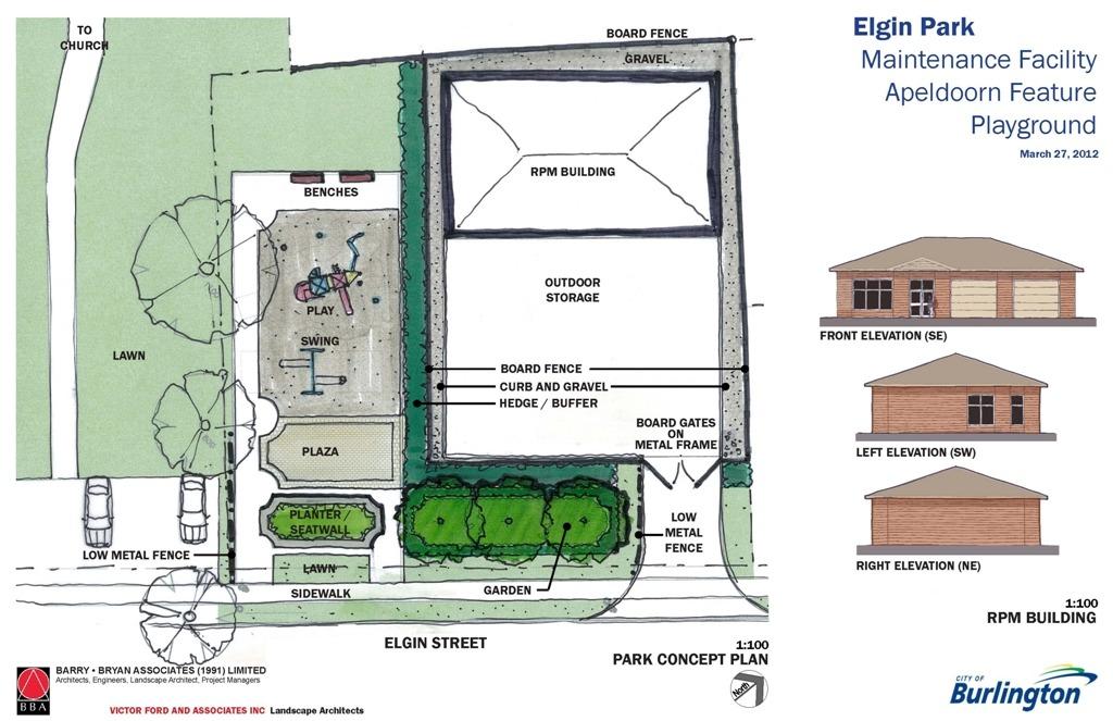 Elgin Park Concept Plan | Ward 2 Burlington