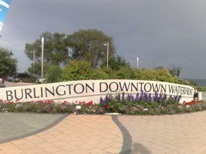 Burlington downtown waterfront