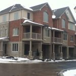 Back to back townhouses on Plains Road