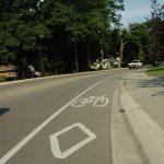 bike lane - king road Burlington