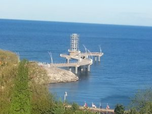 Pier is complete; litigation continues; legal fees $1.35m & counting