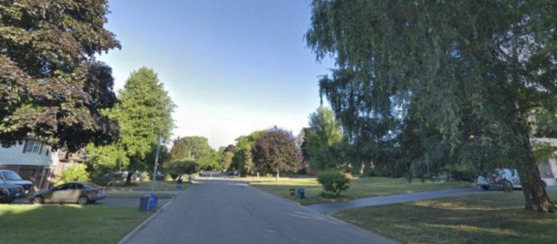 Strathcona Drive.