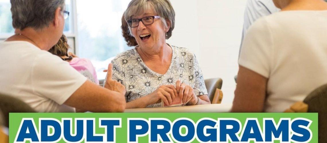 Adult program registration July 2021