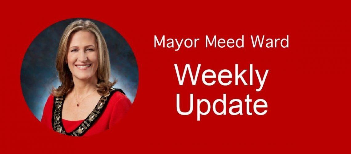 Mayor's Weekly Public Update