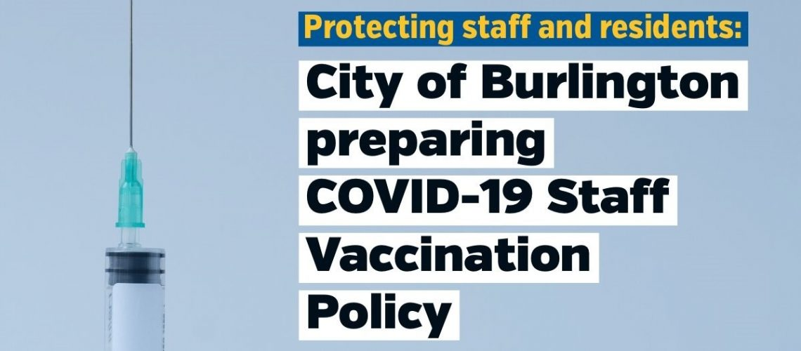 COB Staff vaccination policy