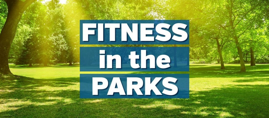 Fitness in parks announcement