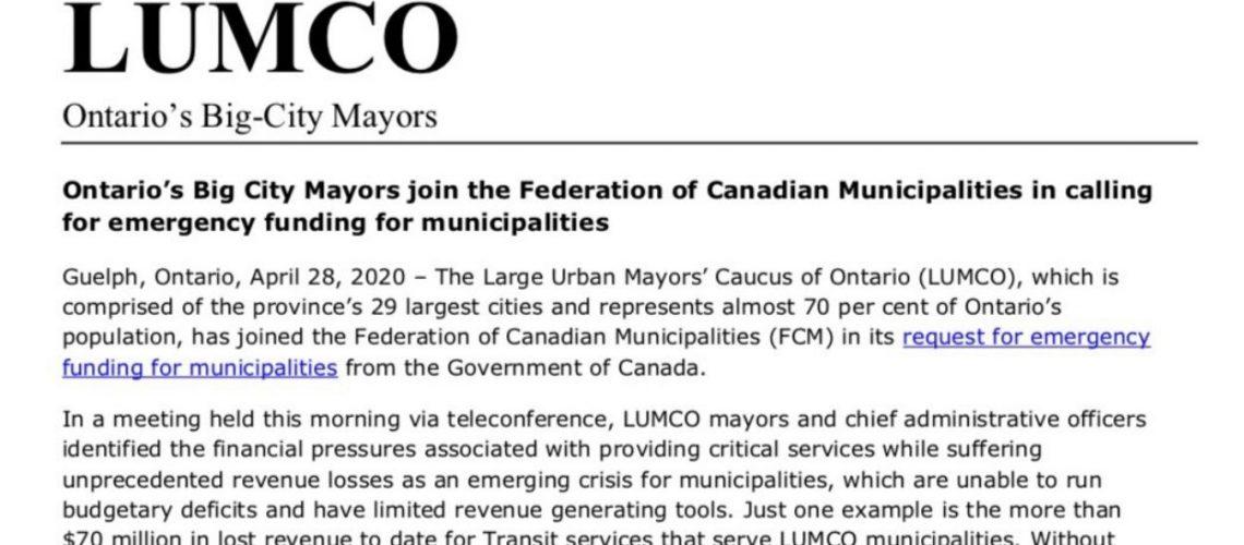 LUMCO April 28 2020 Resolution