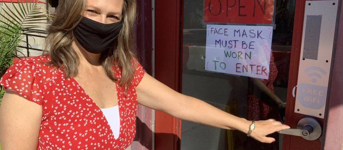 Marianne Meed Ward - Wear a Mask