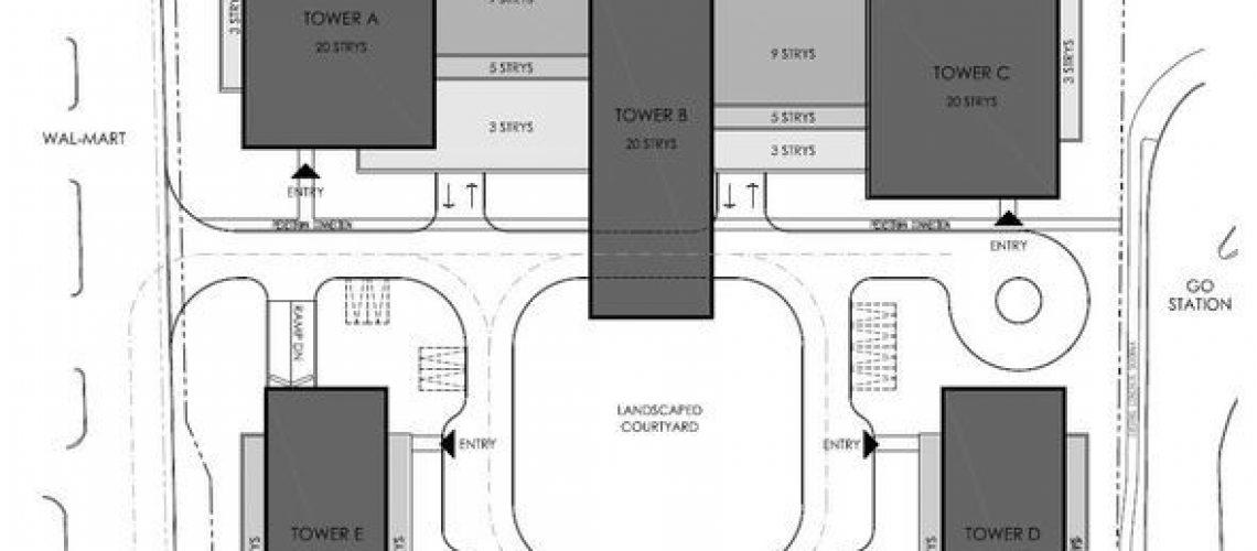 Molinaro Site Plan - Fairview | Burlington