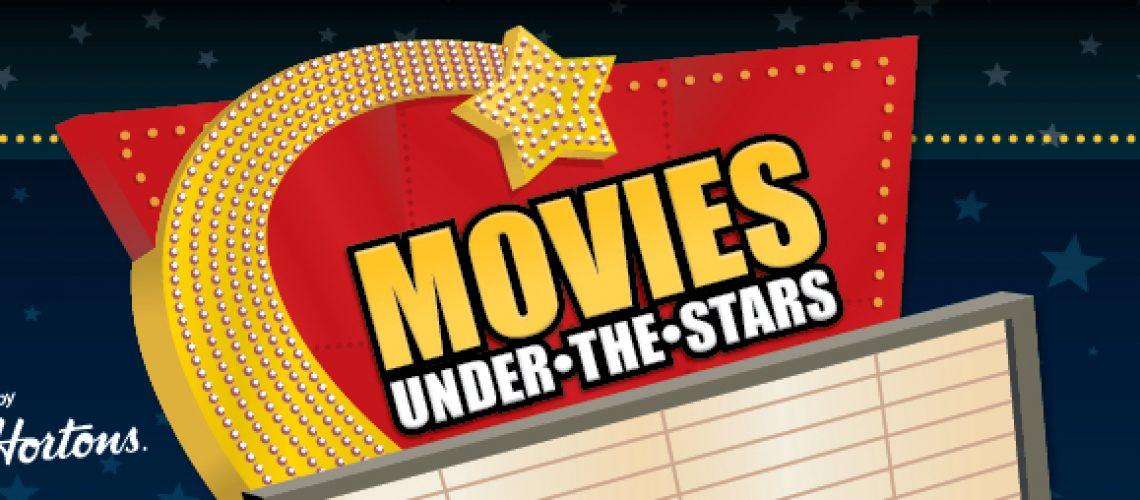 Movies under the stars header