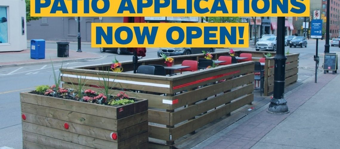 Patio Applications Now Open