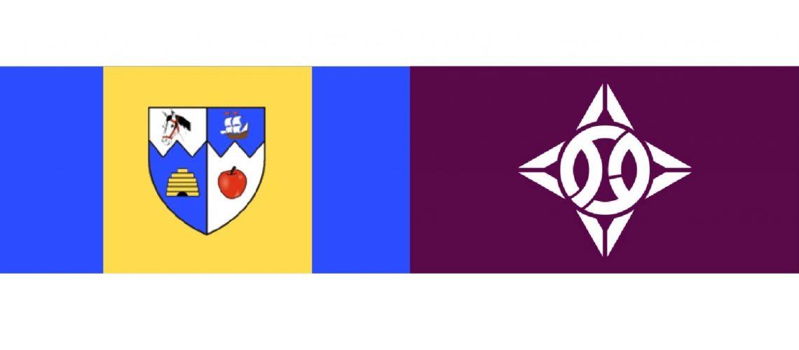 STOCK_Burlington_Itabashi_City Flags