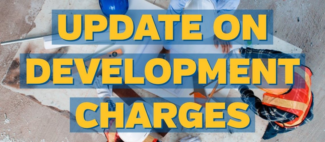 STOCK_Development Charges_Updates