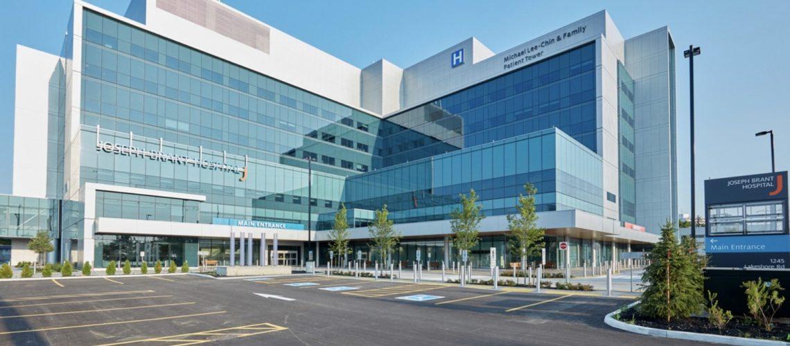 Joseph Brant Hospital photo.
