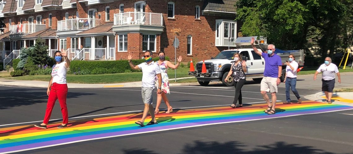 STOCK_Rainbow_Crosswalk_Lakeshore and west of Brant_Official Opening_01