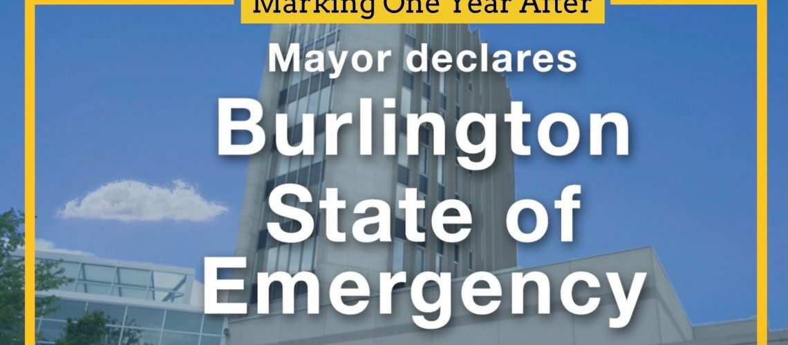 State of Emergency One Year Anniversary