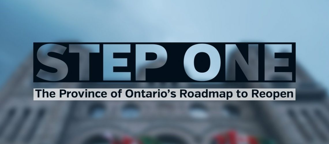 Step One Roadmap to Reopen June 2021