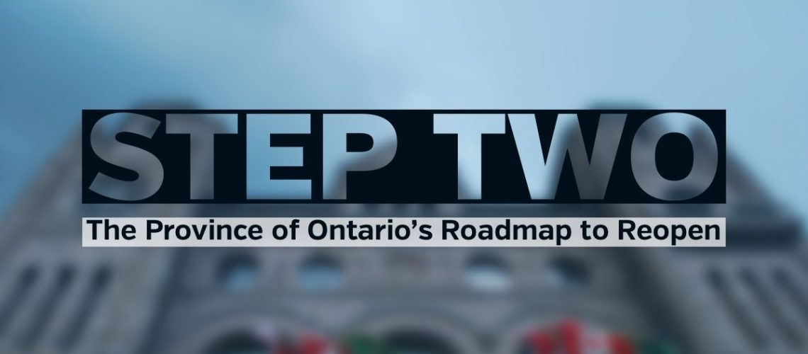 Step Two Roadmap to Reopen June 2021