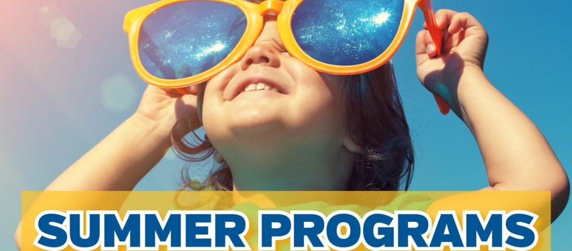 Summer Program Registration - May 2021