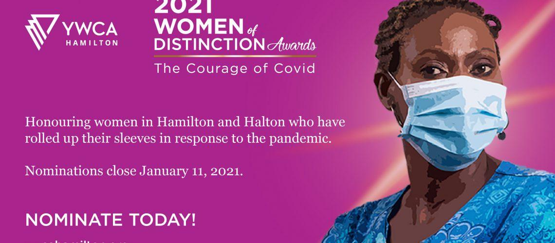 YWCA Women of Distinction Awards_Social Media ads - nominations open_Twitter