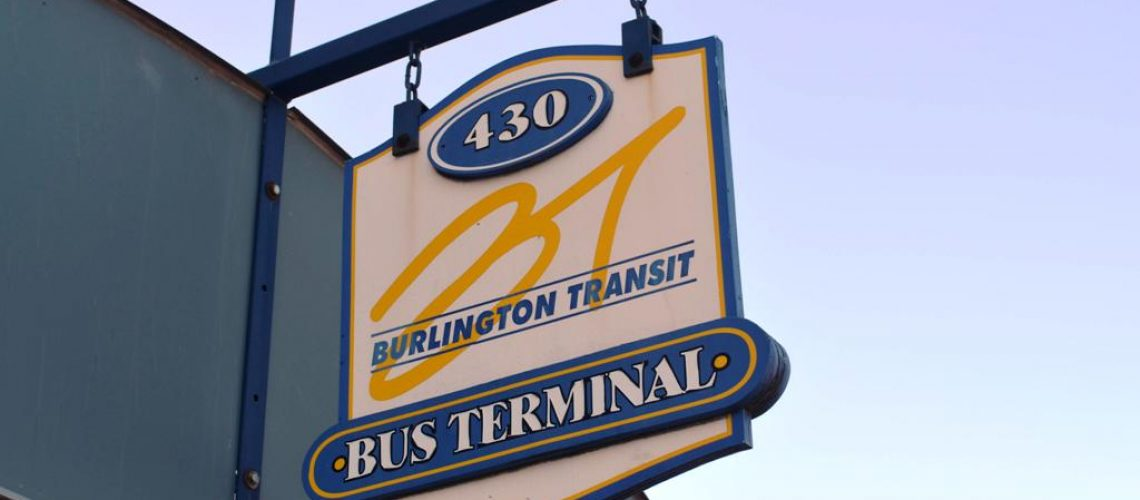 Burlington transit bus terminal