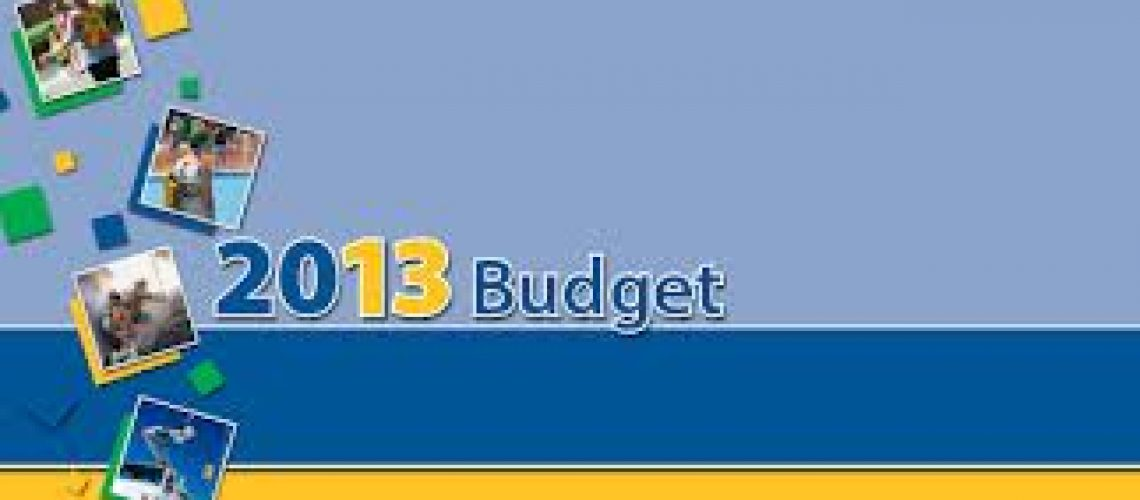 Burlington City Budget 2013