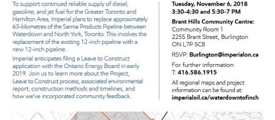 pipeline open house