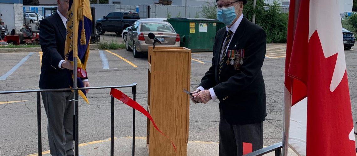 ribbon cutting legion aug 2020